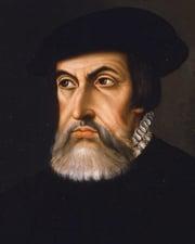 Spanish Conquistador Hernán Cortés