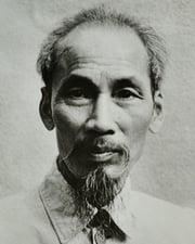 Vietnamese Communist Revolutionary Ho Chi Minh