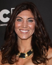 Football Star Hope Solo