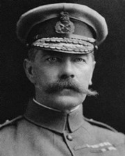 General and Secretary of War Horatio Kitchener