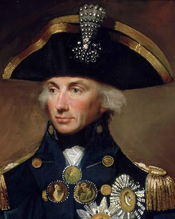 British Admiral Horatio Nelson