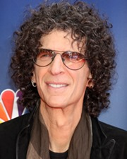 Radio shock jock Howard Stern