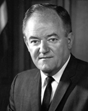 US Vice President Hubert Humphrey