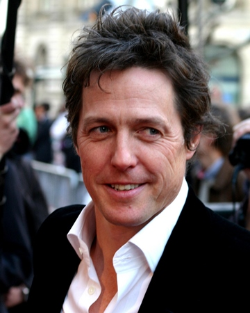 Actor and Producer Hugh Grant