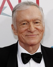 Playboy Founder & Businessman Hugh Hefner