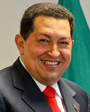 President of Venezuela Hugo Chávez