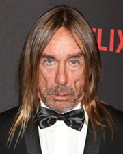 Rocker Iggy Pop