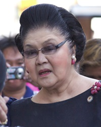 First Lady and Politician Imelda Marcos