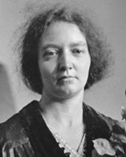 Physicist/Chemist Irene Joliot-Curie