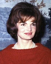 US First Lady Jacqueline Kennedy Onassis