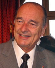 President of France Jacques Chirac