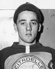 Ice Hockey Goaltender Jacques Plante