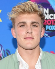 YouTube Star and Actor Jake Paul