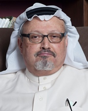 Dissident, Author and Columnist Jamal Khashoggi