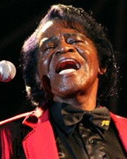 Singer James Brown