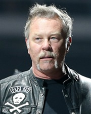 Metallica Rocker James Hetfield