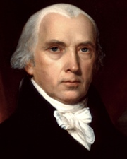 4th US President James Madison