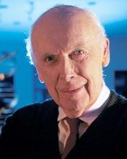 Molecular biologist James Watson