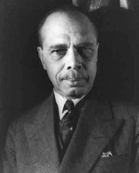 Writer and Civil Rights Activist James Weldon Johnson