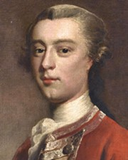 British Army Officer James Wolfe