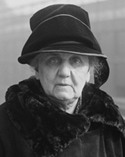 Social Worker and Nobel Laureate Jane Addams