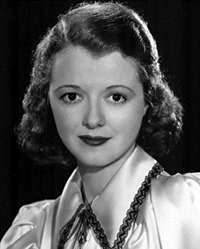Actress Janet Gaynor
