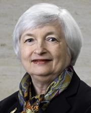 Economist and Chair of the Federal Reserve Janet Yellen