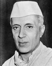 1st Prime Minister of India Jawaharlal Nehru