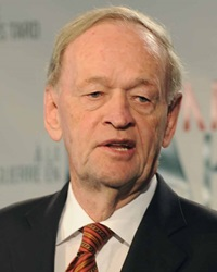 20th Prime Minister of Canada Jean Chretien