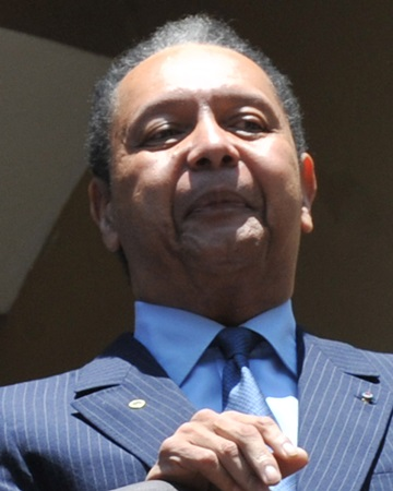Dictator and President of Haiti Jean-Claude Duvalier