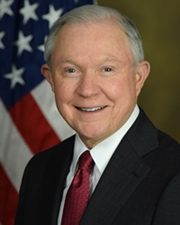 US Senator and Attorney General Jeff Sessions