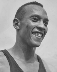 Track and Field Athlete Jesse Owens