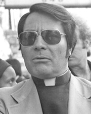 Founder of the Peoples Temple cult Jim Jones