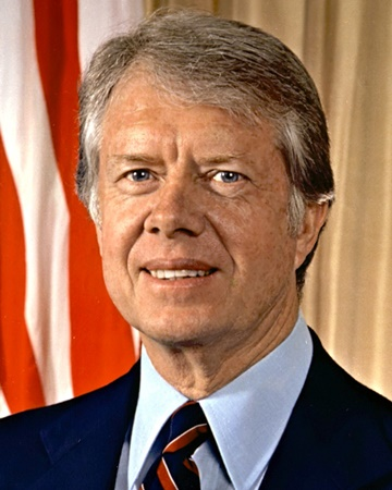 39th US President Jimmy Carter