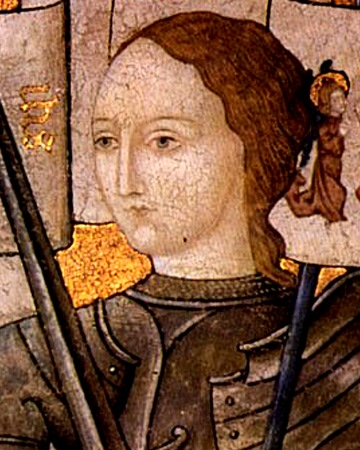 French Soldier and National Heroine Joan of Arc