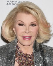 Actress, Comedian and T.V. Host Joan Rivers