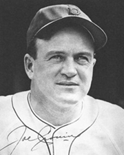 Baseball Player and Manager Joe Cronin