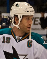 NHL Star Joe Thornton