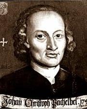 Composer Johann Pachelbel