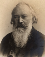 Composer and Conductor Johannes Brahms