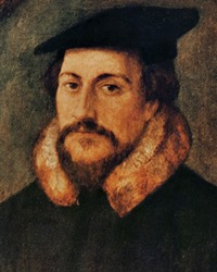 Protestant Reformer and Theologian John Calvin