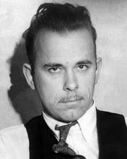 Gangster John Dillinger