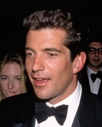 Publisher and Lawyer John F. Kennedy Jr.