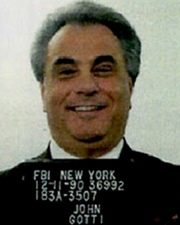 Gangster John Gotti