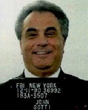 Gangster John Gotti