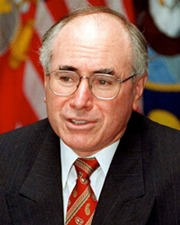 25th Australian Prime Minister John Howard