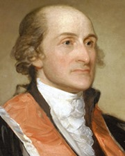 1st US Chief Justice John Jay
