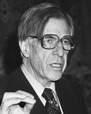 Economist and Author John Kenneth Galbraith
