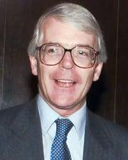 British Prime Minister John Major