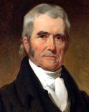 Chief Justice of the Supreme Court of the United States John Marshall